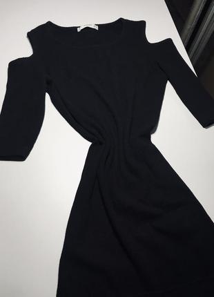 Платье рубчик mango