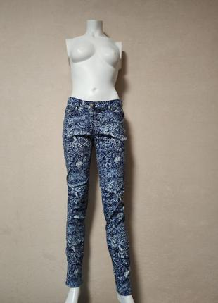 Яркие джинсы h&m, xs/s