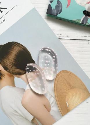Силиконовый спонж для макияжа со звёздочками