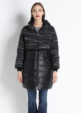 Пальто черное rinascimento