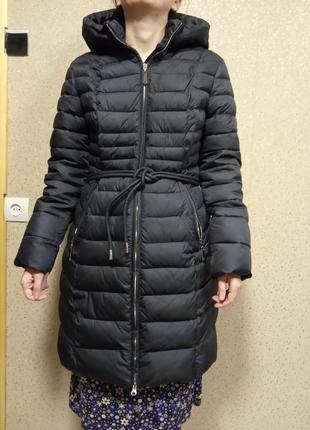 Куртка синяя осень зима тинсулейт