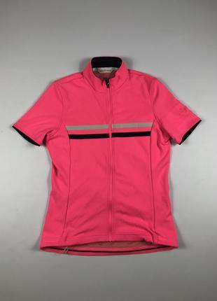 Rapha women's ss brevet jersey джерси вело футболка мериносовая