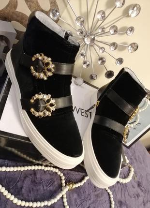 Ботинки слипоны кеды кроссовки nine west