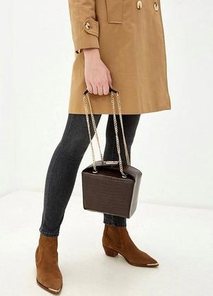 Topshop новая стильная красивая сумка сундучок