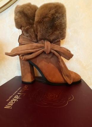 Зимние ботинки sasha fabiani,for vogue life.