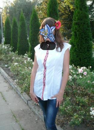 Рубашка в украинском стиле