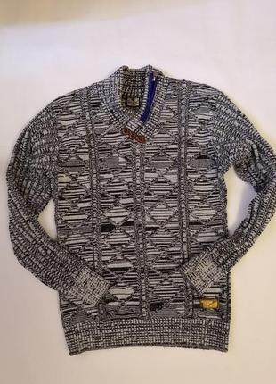 Тёплый свитер mirac triko, made in turkive, размер л
