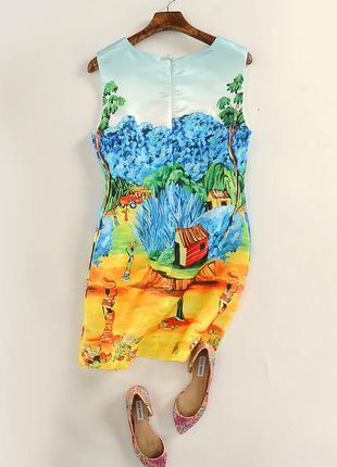 Модное летнее платице