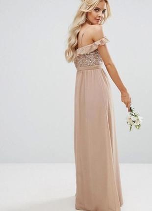 Полная ликвидация вечерних платьев!!!!! вечернее выпускное платье макси с паетками