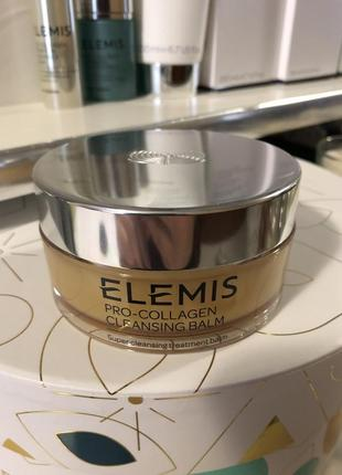 Elemis pro-collagen cleansing balm, 105гр.2 фото