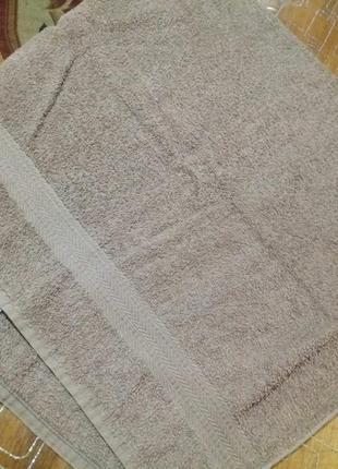 Банное махровое полотенце 70 на 135свм