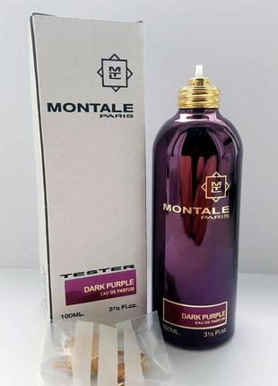 Montale dark purple парфюмированная вода