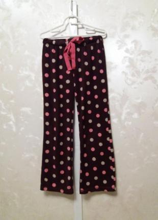 Флисовые пижамные штаны