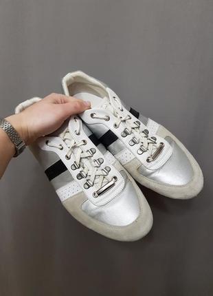 Мужские туфли кеды кроссовки christian dior homme