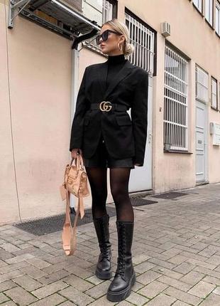 Длинный пиджак-платье/nl collection/пиджак однобортный/базовый пиджак
