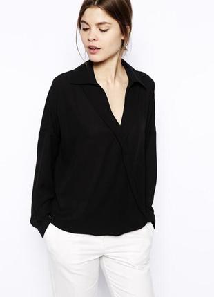 Фирменная блуза на запах от vero moda