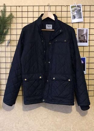 Стильная мужская стеганка , стёганая куртка , парка , куртка демисезонная