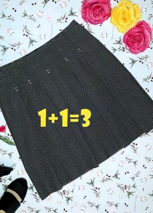 🌿1+1=3 фирменная теплая плотная юбка до колена dickins&jones, размер 46 - 48