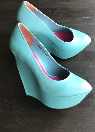 Кожаные туфли glossi