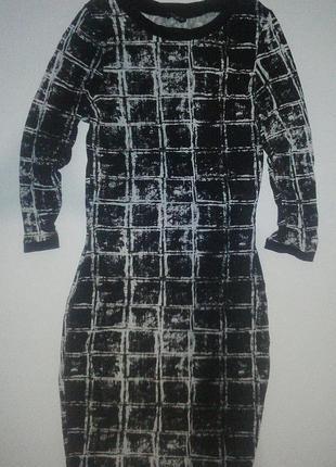 Облегающее платье в клетку(s)