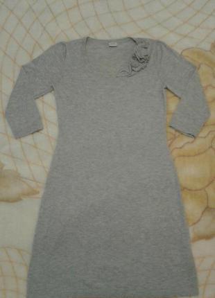 Шикарное трикотажное платье esprit
