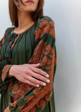 Сочетание традиционной вышивки в современном стиле!