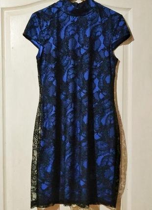 Красивое нарядное праздничное платье-футляр
