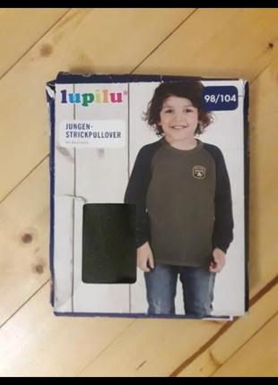 Светер на хлопчика lupilu