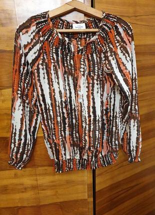 Лёгкая блуза блузка кофта