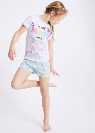 Красивая пижамка на 14-15,15-16 лет от marks&spencer из англии