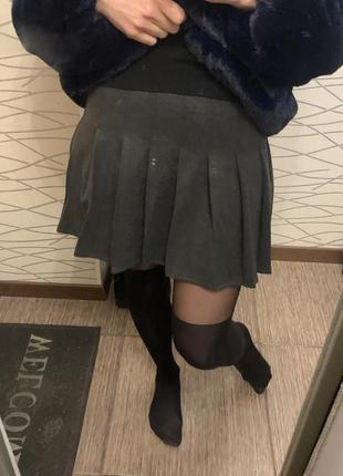 Крутая юбка плиссировка