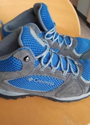 Columbia waterproof оригинал ботинки осень/зима
