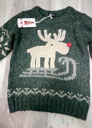 Свитер с рождественской коллекции