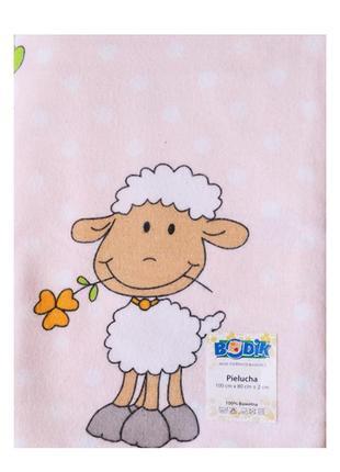 Пеленка фланелевая для малышей