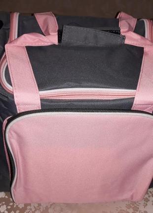 Спортивная, легкая  , вместительная и комфортная  сумка от yves rocher