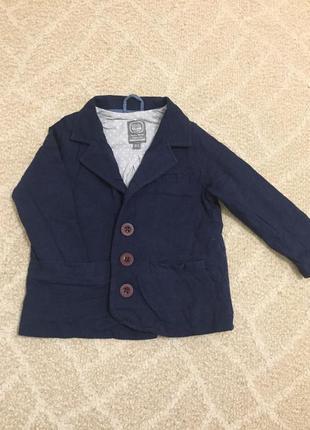 Пиджак для маленького модника