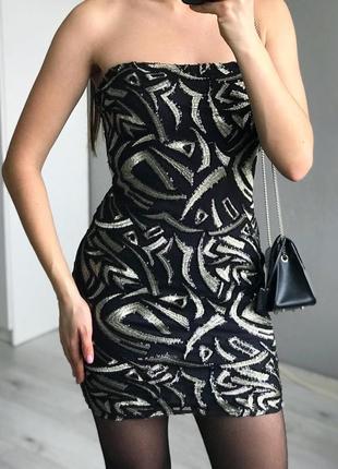 Шикарное платье parisian