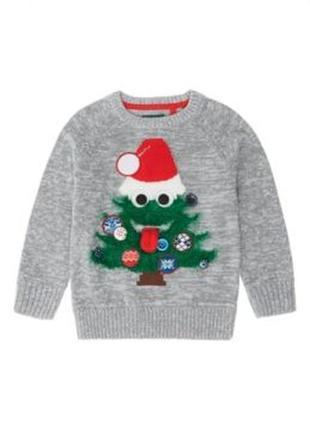 Новогодний свитер елочка