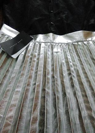 Плиссированные юбки zara