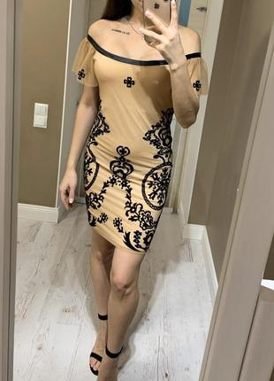 Нежное вечернее платье, нарядное на новый год