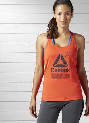 Новая спортивная майка reebok,оригинал