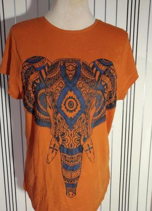 Футболка orange слон