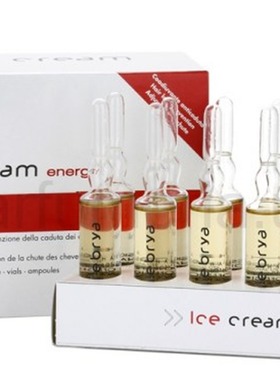 Сыворотка против выпадения волос inebrya ice cream energy lotion intensive ampoules