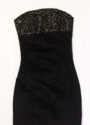 Нарядное платье с пайетками gloria jeans