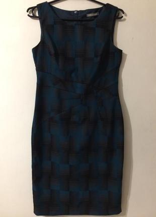 M&s marks & spencer платье клетчатое