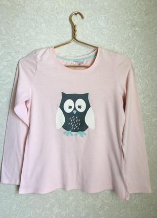 Пижамная кофта, футболка на длинном рукаве.