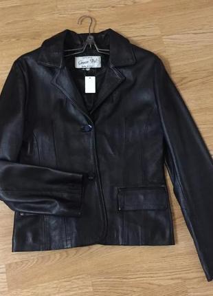 "Кожаный пиджак ""vera pelle"""