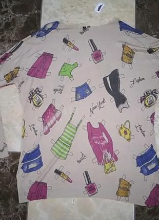 Туника платье over size
