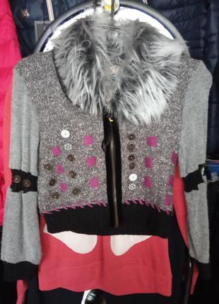Модная кофта