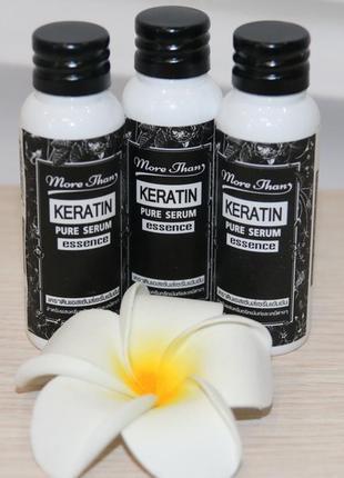 Тайская сыворотка для волос more than keratin для выпрямления и защиты 25 мл